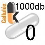 Üres Vegán cellulóz kapszula átlátszó 0 1000db