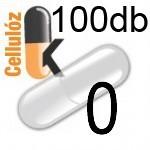 Üres Vegán cellulóz kapszula átlátszó 0 100db