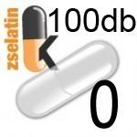 Üres Zselatin kapszula átlátszó 0 100db