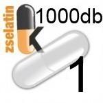 Üres Zselatin kapszula átlátszó 1 1000db