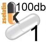 Üres Zselatin kapszula átlátszó 1 100db